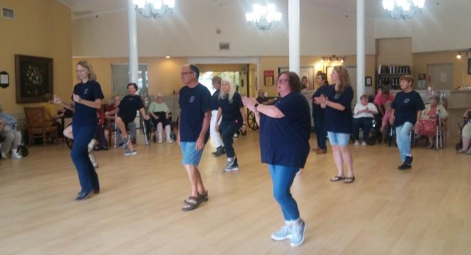 Morgantown Line Dancers - Morgantown Care & Rehabilitation